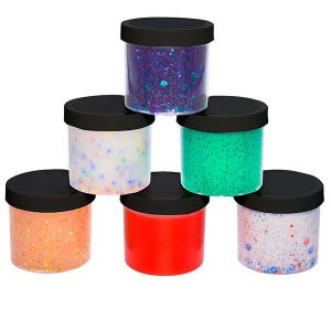 SCS SGCB6 736 maddie raes slime glue jars black 6 pack 300x300 - Home
